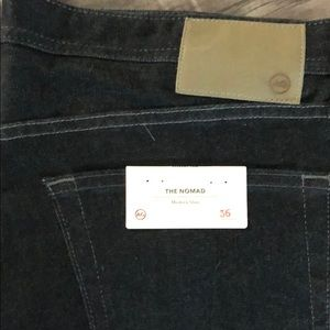 AG Adriano Goldschmied Dark Denim Mens Jeans